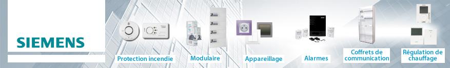 Interrupteurs différentiels de la marque Siemens