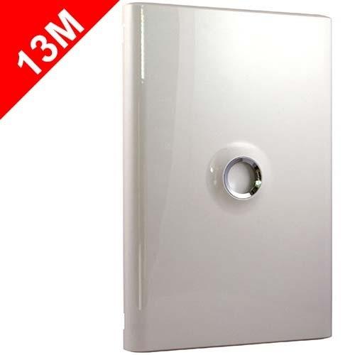 legrand drivia porte blanche pour tableau lectrique drivia 13 modules 2 rang es 401332. Black Bedroom Furniture Sets. Home Design Ideas