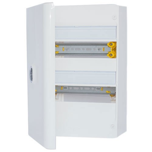 Legrand drivia tableau lectrique 13 modules nu 2 rang es for Porte electrique
