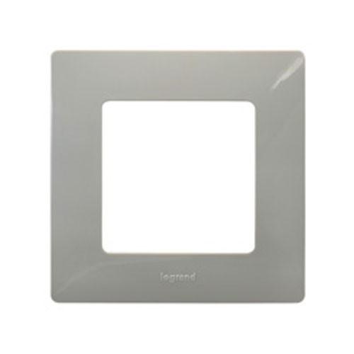legrand nilo plaque simple 1 poste galet 096704. Black Bedroom Furniture Sets. Home Design Ideas