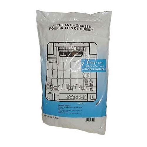 2 filtres anti graisse pour hotte de cuisine dmo - Filtre pour hotte de cuisine ...