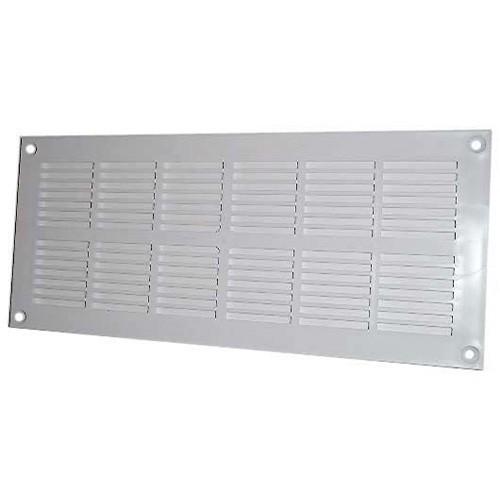 Dmo s grille a ration pvc rectangulaire plate menuiserie visser 337x131mm - Installer grille aeration fenetre pvc ...