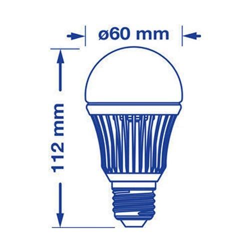 VERBATIM Ampoule LED àvis E27 6W 380lm 230V