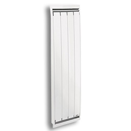 radiateur inertie mixte vertical blanc 1000w siemens. Black Bedroom Furniture Sets. Home Design Ideas