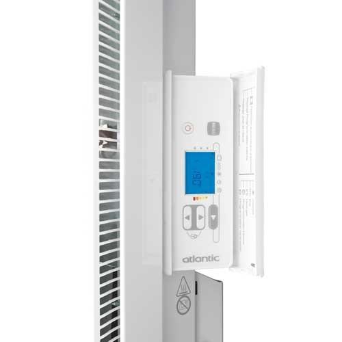 atlantic nirvana radiateur lectrique chaleur douce blanc 2000w. Black Bedroom Furniture Sets. Home Design Ideas