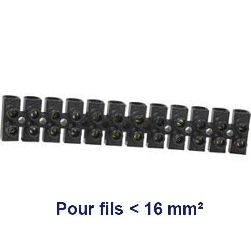 Barrette dominos de connexion 16mm² - 2