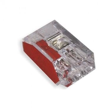 CAPRI 10 bornes auto de connexion rapide pour 2 fils 2.5² rouge - 2