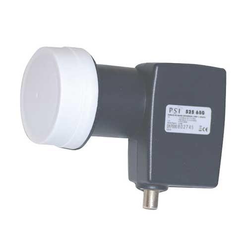 LNB single universel diamètre 40 mm 0,4 dB