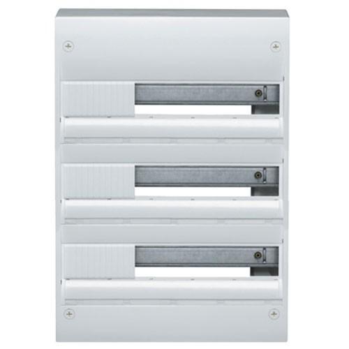 tableau lectrique hager 3 rang es 18 modules gamma 18. Black Bedroom Furniture Sets. Home Design Ideas