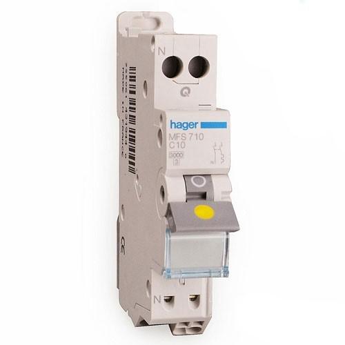 HAGER Disjoncteur AUTO Phase Neutre 10A