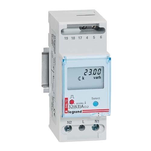 Legrand emdx compteur d 39 nergie monophas direct 63a 004672 - Habillage compteur electrique ...