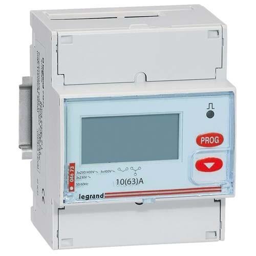 Compteur d 39 nergie legrand 63a triphas emdx 004673 - Habillage compteur electrique ...