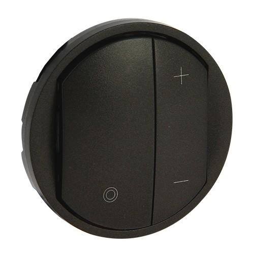 enjoliveur interrupteur variateur legrand c liane graphite 065283. Black Bedroom Furniture Sets. Home Design Ideas