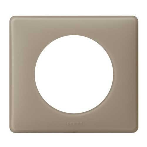 legrand c liane plaque poudr 1 poste gr s 066721. Black Bedroom Furniture Sets. Home Design Ideas