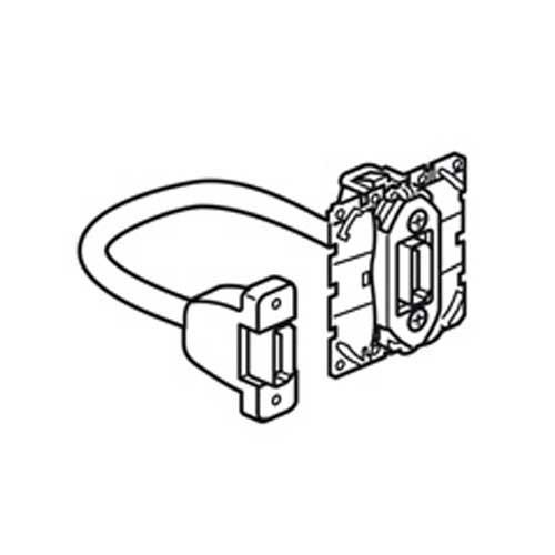 LEGRAND Céliane Prise HDMI pré-connectorisée - 067377 - 2