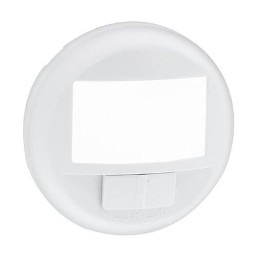 LEGRAND Céliane Enjoliveur blanc Ecodétecteur avec dérogation - 068026