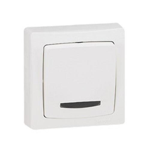 interrupteur va et vient legrand en saillie blanc 086017. Black Bedroom Furniture Sets. Home Design Ideas
