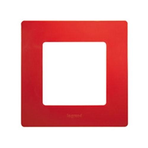 LEGRAND Niloé Plaque simple 1 poste Coquelicot - 096702