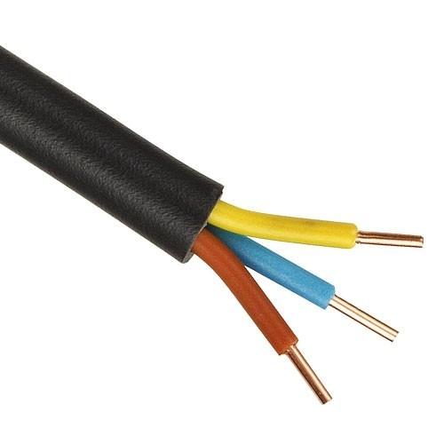 Câble électrique RO2V 3G 1.5 - Couronne de 50m - 2