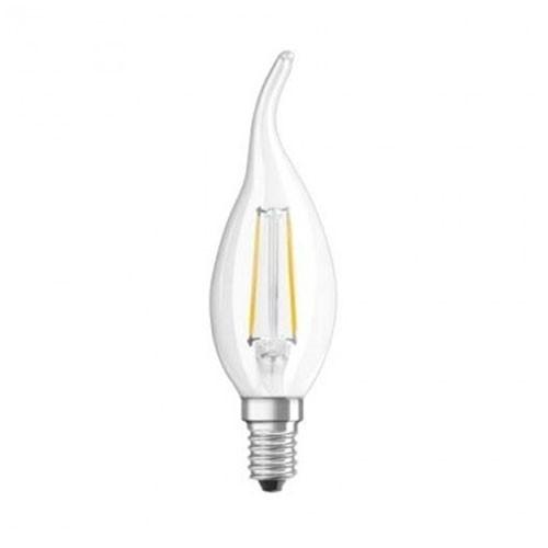 ampoule led filament dimmable osram e14 230v 6w 40w flamme coup de vent. Black Bedroom Furniture Sets. Home Design Ideas