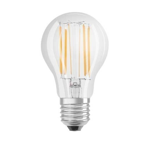 ampoule led filament blanc froid osram e27 230v 8w 75w standard. Black Bedroom Furniture Sets. Home Design Ideas