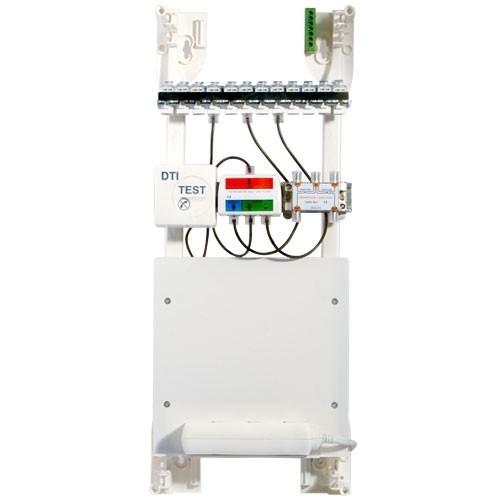 ELESYS Tableau de communication 12 RJ45 Grade 1 - 2