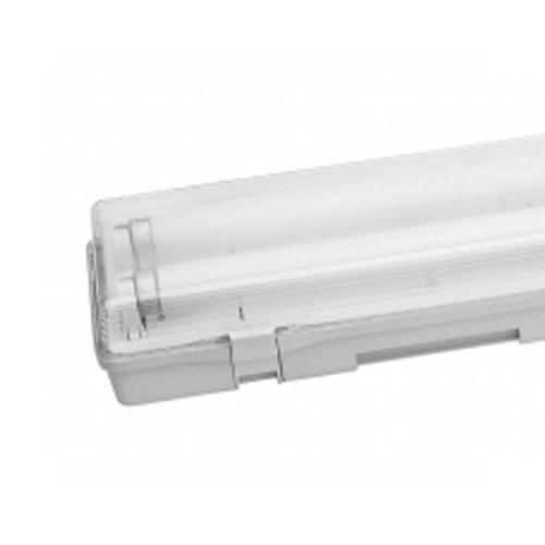 Réglette fluorescente étanche + 2 tubes 58W - 2