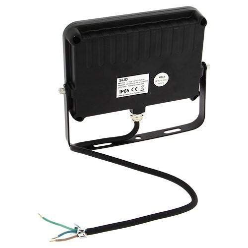 Projecteur ext rieur led extra plat 230v 20w 1600lm noir for Telecommande eclairage exterieur legrand