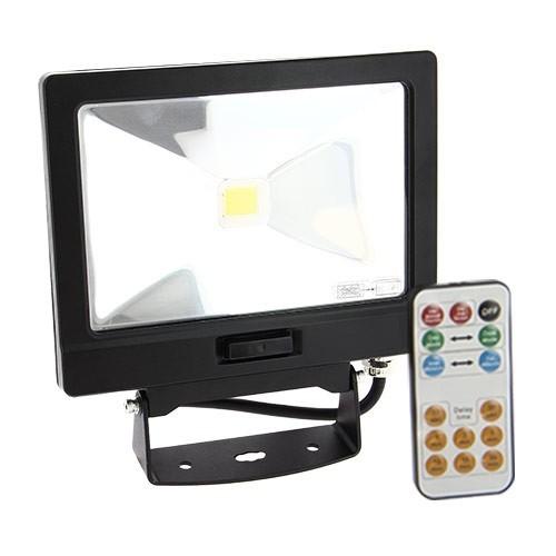 Projecteur ext rieur led extra plat d tection avec - Telecommande eclairage exterieur legrand ...