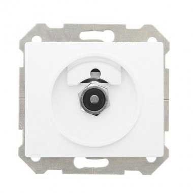SIEMENS Delta Iris Mécanisme interrupteur variateur rotatif 500W - Blanc - 2