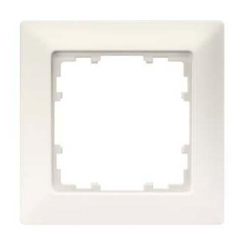 SIEMENS KNX Delta Line plaque simple blanc titane 80X80mm ...