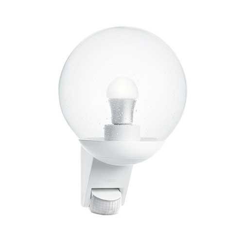 Luminaire ext rieur d tection steinel e27 blanc l 585 s for Luminaire exterieur blanc