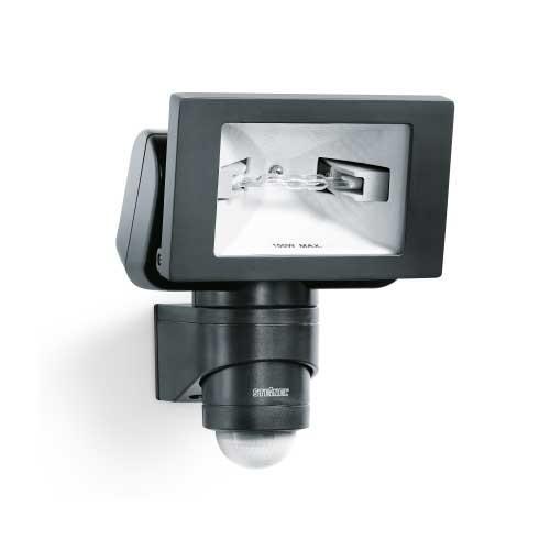 Projecteur ext rieur halog ne d tection steinel noir for Halogene exterieur