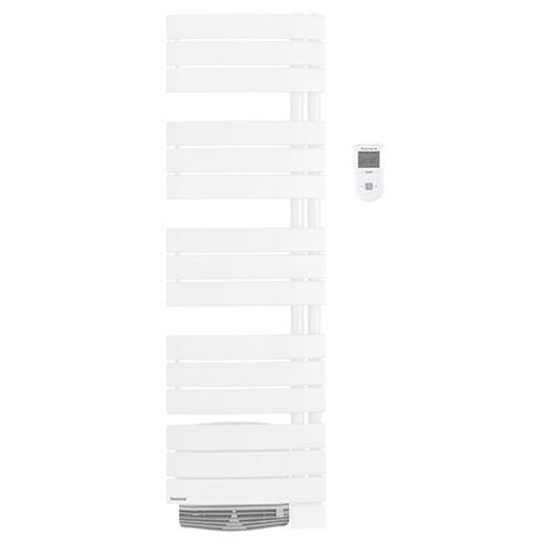 THERMOR Allure digital étroit Sèche-serviettes Blanc satin avec soufflerie 1750W  - 490761 - 2