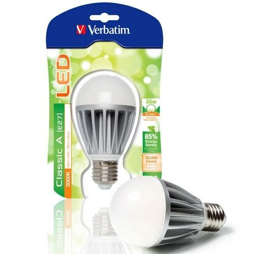 ampoule led verbatim e27 230v 6w 35w. Black Bedroom Furniture Sets. Home Design Ideas