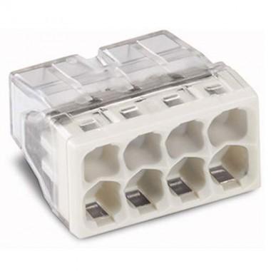 WAGO Sachet de 10 mini-bornes de connexion 8 fils S2273 - 3