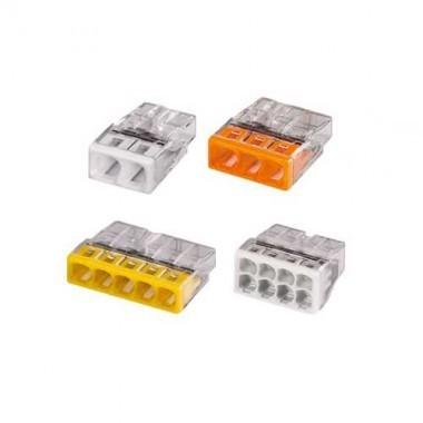 WAGO Panaché de 50 mini-bornes de connexion 2, 3, 5,et 8 fils S2273 - 3