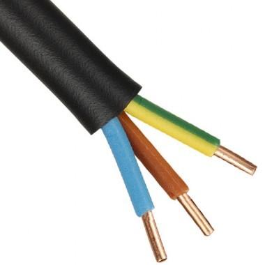C ble lectrique ro2v 3g2 5 couronne de 100m for Cable electrique exterieur