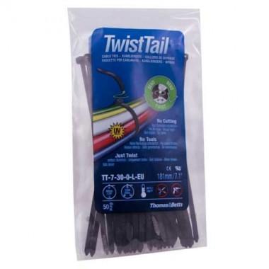 TWIST TAIL 50 colliers de serrage auto-sécable
