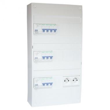SCHNEIDER XP Tableau électrique prééquipé 3 rangées