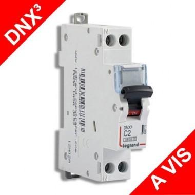 LEGRAND Disjoncteur électrique DNX3 Uni + neutre 2A