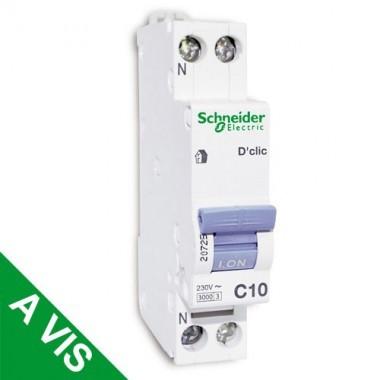 SCHNEIDER XP Disjoncteur D'clic 10A