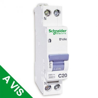 SCHNEIDER XP Disjoncteur D'clic 20A