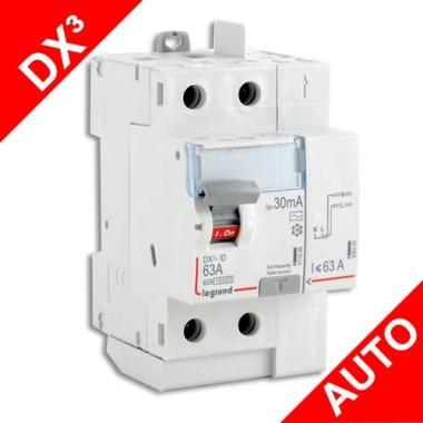 LEGRAND Interrupteur différentiel 63A 30mA Type AC DX3 AUTO