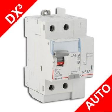 legrand dx3 interrupteur diff rentiel auto 63a 30ma type a 411639. Black Bedroom Furniture Sets. Home Design Ideas
