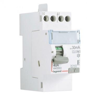 legrand dx3 interrupteur diff rentiel 40a 30ma type hpi 411623. Black Bedroom Furniture Sets. Home Design Ideas