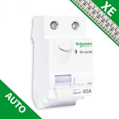 SCHNEIDER XE Interrupteur différentiel DCLIC 40A 30mA type AC