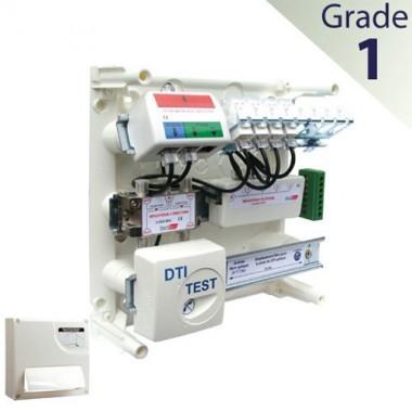 ELESYS Tableau de communication 4 RJ45 Grade 1