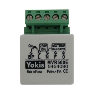 YOKIS Module encastré Centralisation de volets roulants