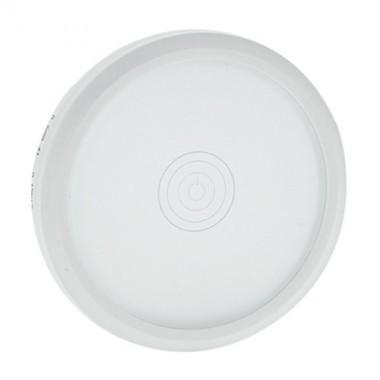 LEGRAND Céliane Enjoliveur variateur à commande tactile Verre Kaolin / Blanc